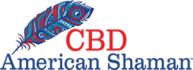 Logo for CBD store: CBD American Shaman