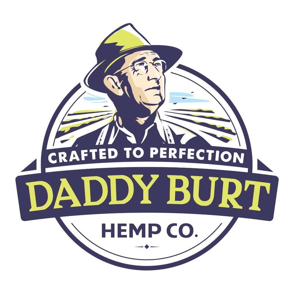 Logo for CBD store: Daddy Burt Hemp Co.