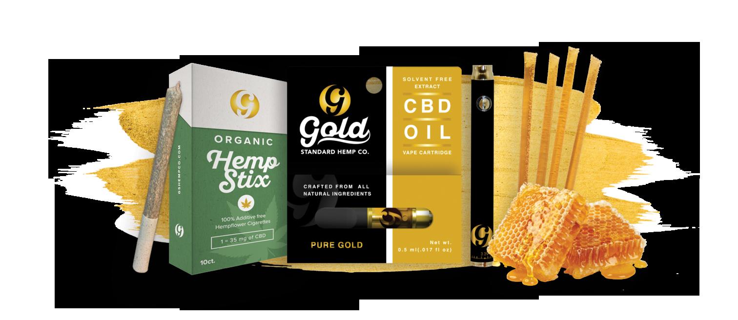 Banner image for CBD store: Gold Standard CBD
