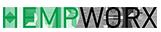 Logo for CBD store: HempWorx