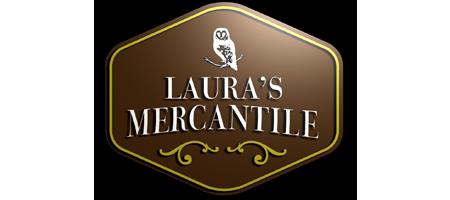Logo for CBD store: Laura's Mercantile