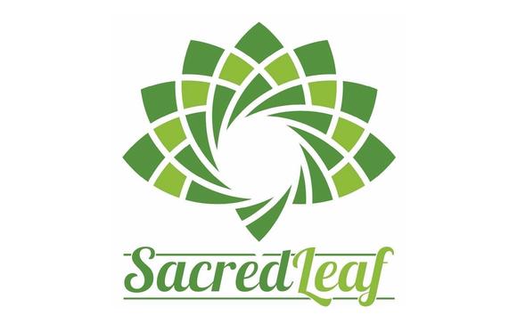 Logo for CBD store: Sacred Leaf
