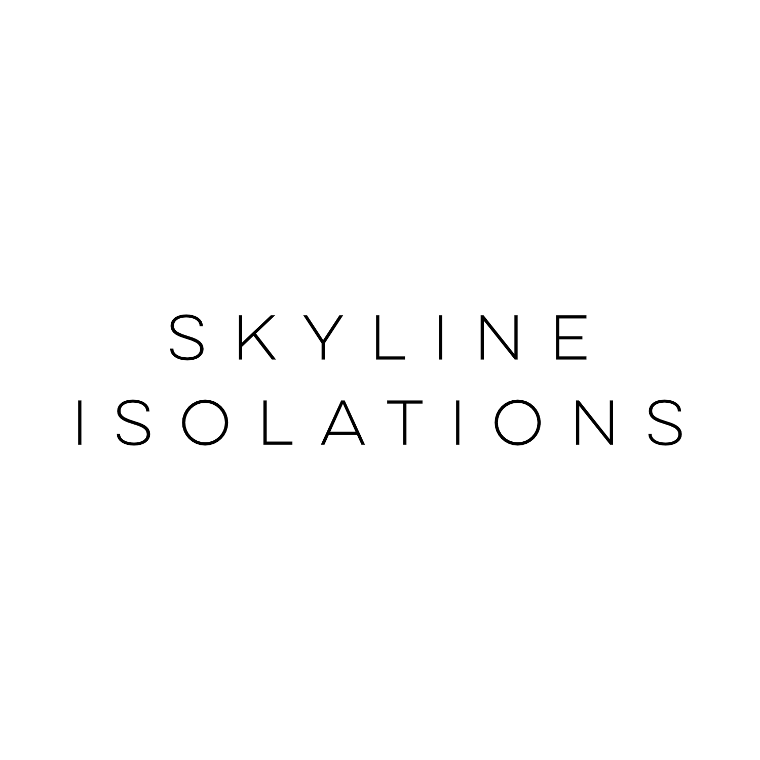 Logo for CBD store: Skyline Isolations