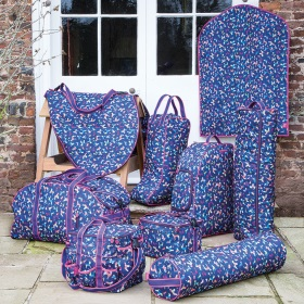 Shires Equestrian Luggage in Dog Print