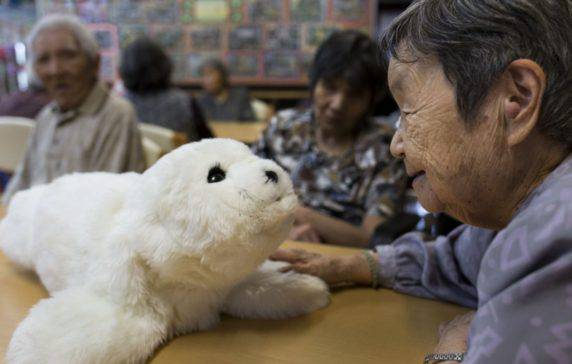 Man's Best (Robot) Friend: Robotic Pets Help Elders Reduce Pill