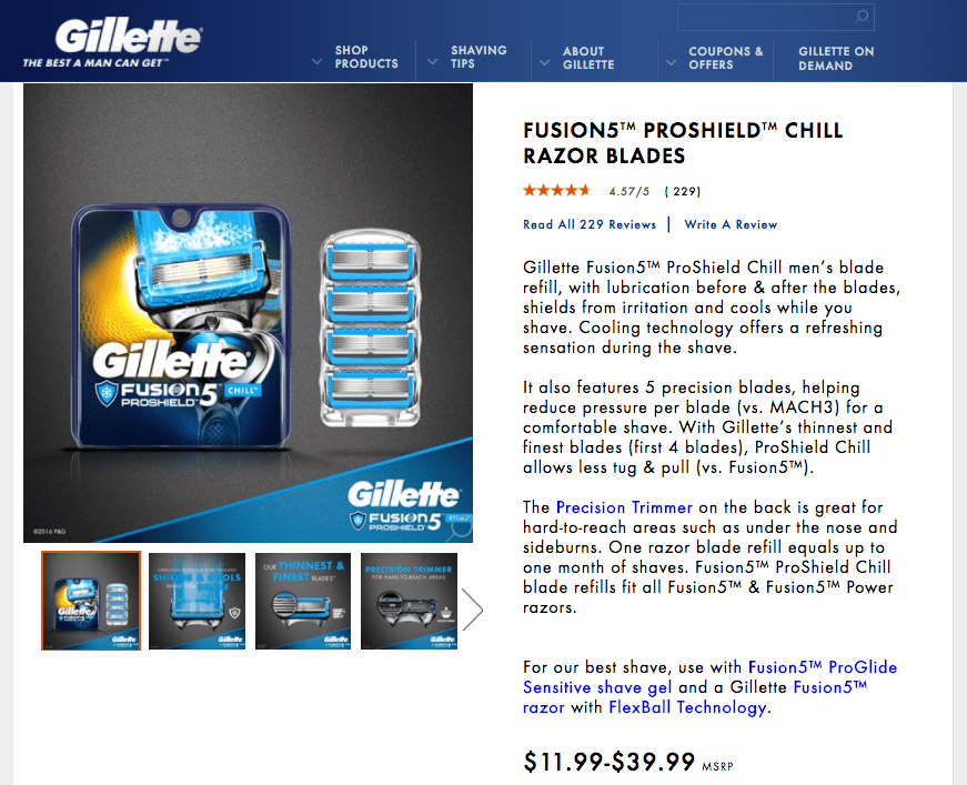 the best deal gillette could get case analysis