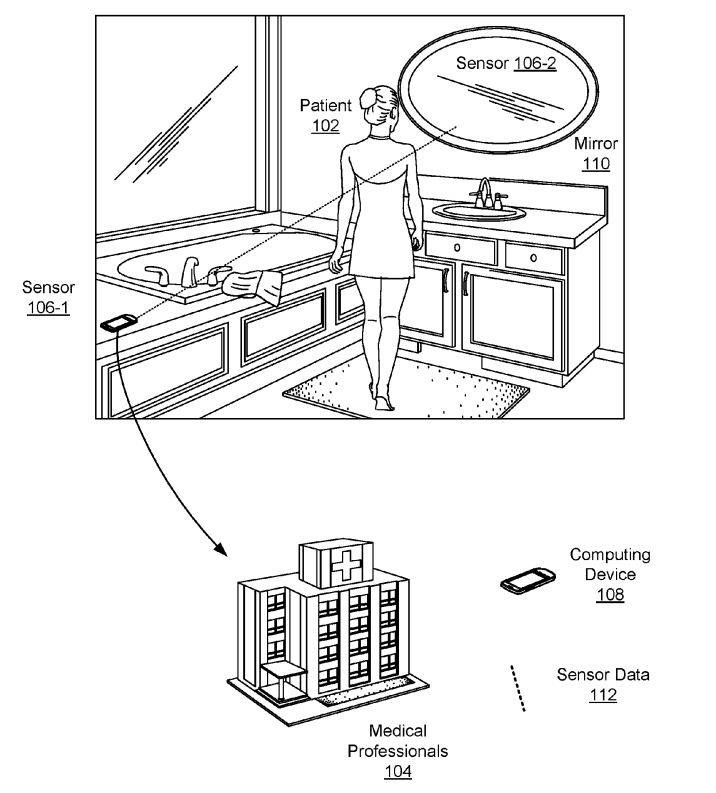 Google Health: New Google Patent Could Turn Your Bathroom Mirror Into A