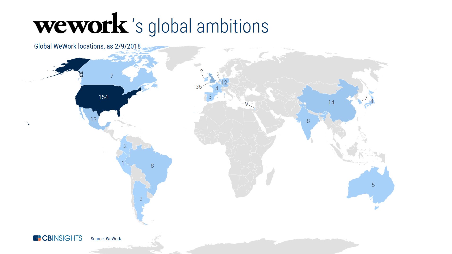 The wework report to date wework has focused on the united states with 154 us based locations just over 50 of its global total within the us the companys locations are gumiabroncs Gallery
