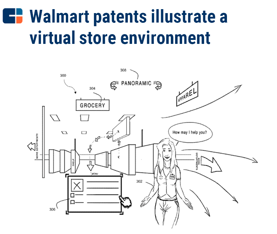 2d7ce5169e38 Walmart Patent Wants You To Shop At Home Using Virtual Reality