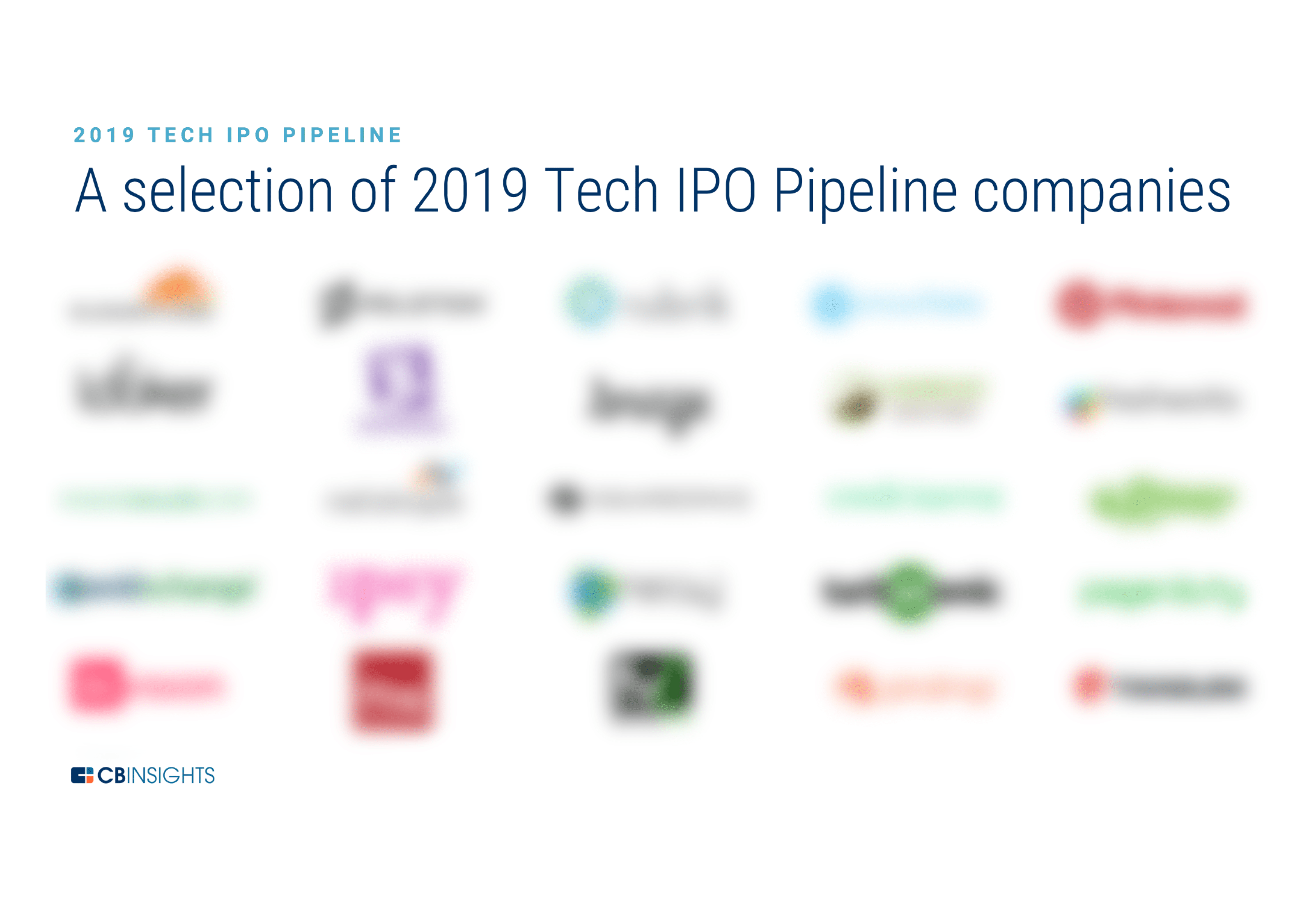 The 2019 Tech IPO Pipeline - CB Insights Research