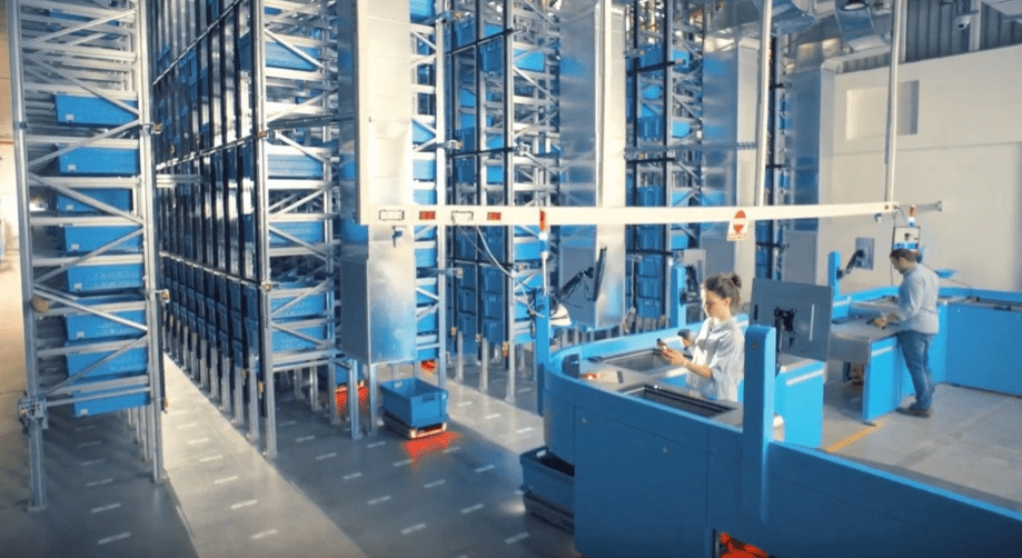 microfulfillment center warehouse