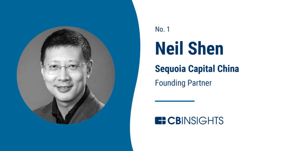 Top Venture Capitalist Neil Shen Sequoia Capital China
