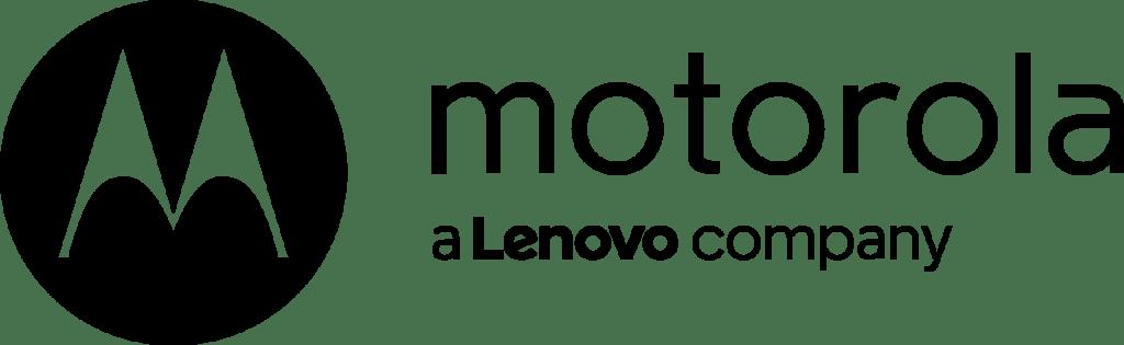 The Motorola logo on a plain white background.