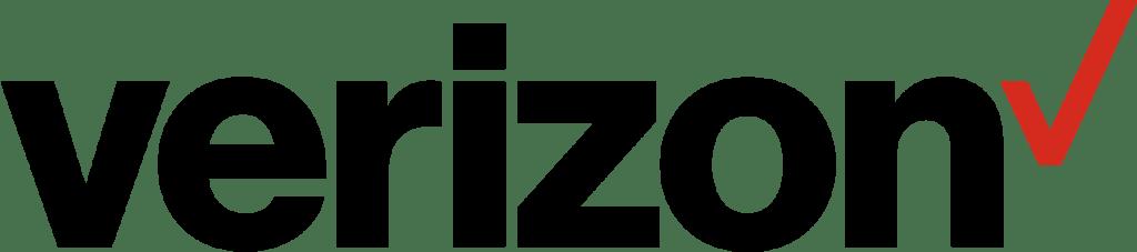 Verizon's logo on a plain white background.