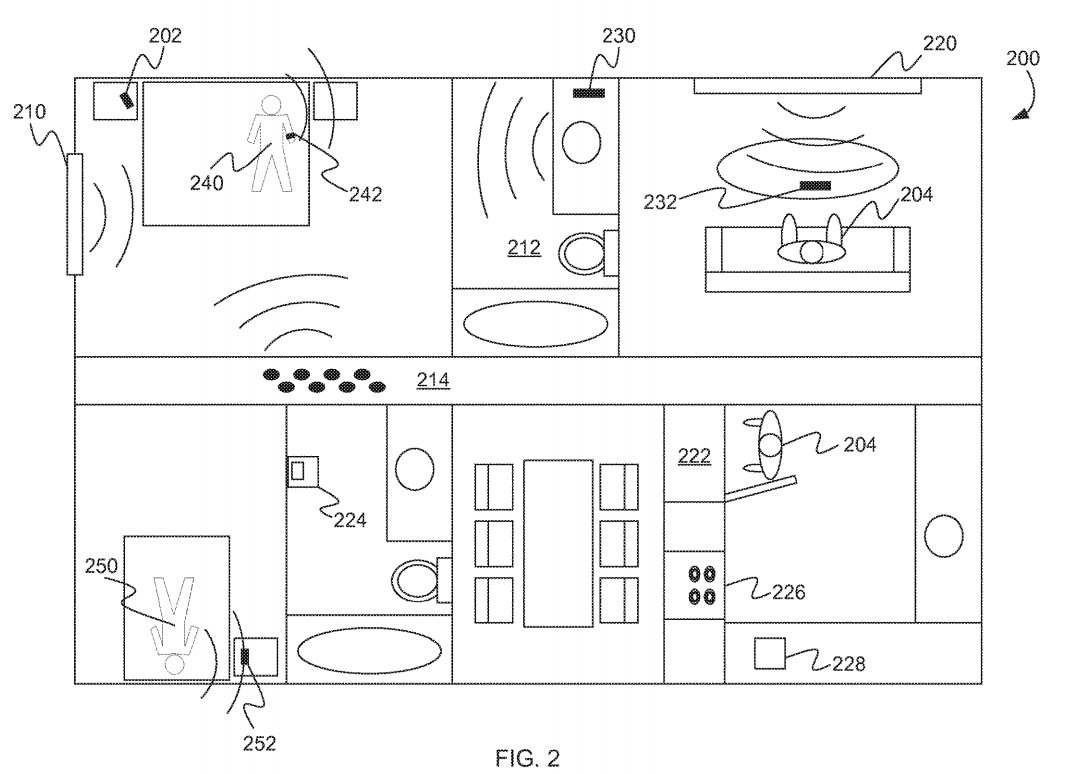 diagram of sleeping apple patents tech to help you track your sleeping habits cb  apple patents tech to help you track