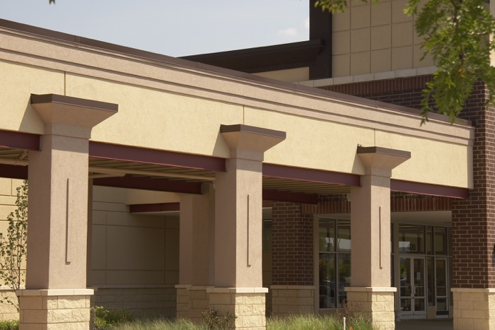 Colonial materials eifs and exterior finishes for Exterior building products