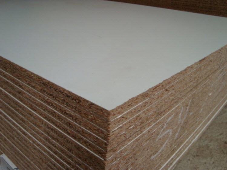 3/4 in x 4 ft x 8 ft White Thermally Fused Melamine Board at Capitol