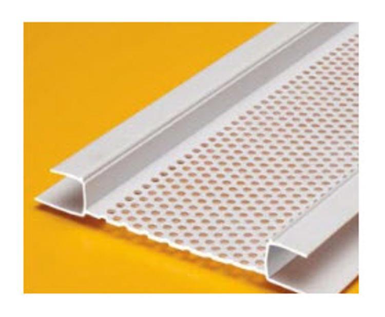 10 ft Plastic Components Continuous Soffit Vent for EIFS at