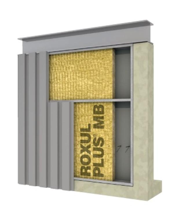 3 1 2 in x 16 in roxul plus mineral wool insulation at for Roxul mineral wool r value
