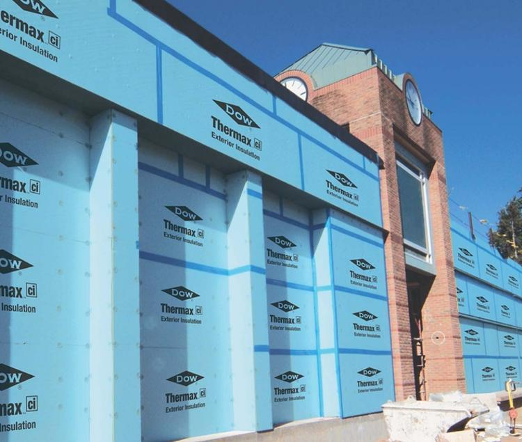 Exterior Building Insulation : In ft dow thermax ci exterior insulation