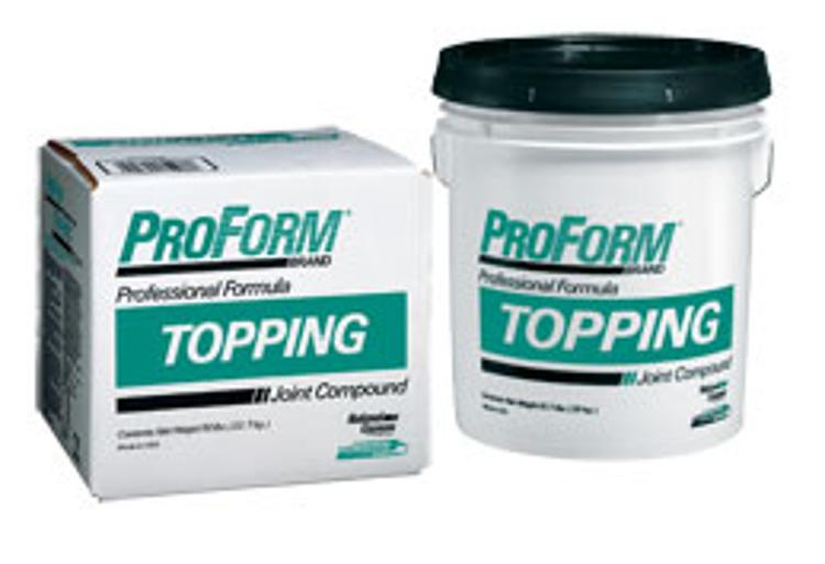 National gypsum proform topping joint compound 5 gallon for National gypsum joint compound
