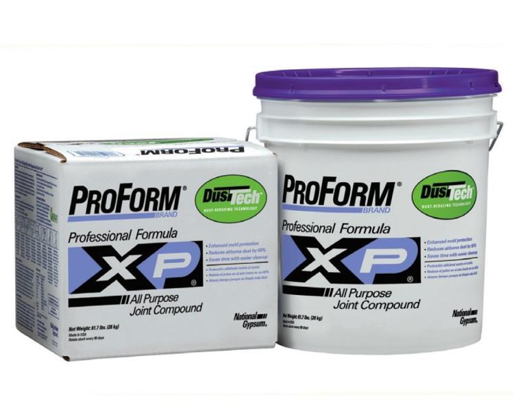 National gypsum proform xp joint compound w dust tech at for National gypsum joint compound