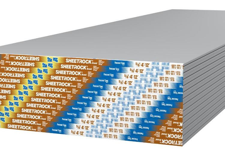 5/8 In X 4 Ft X 12 Ft Exterior Ceiling Board Type C