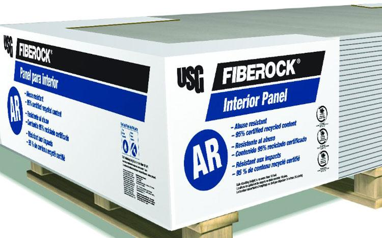5 8 In X 4 Ft X 12 Ft Fiberock Aqua Tough Interior Ar At