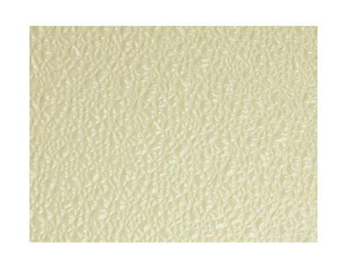 .090 in x 4 ft x 10 ft Crane Composites Sequentia FRP Embossed Wall Panel - Almond