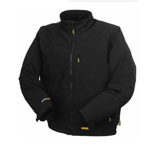 DeWALT 20 Volt / 12 Volt MAX* Li-Ion Soft Shell XL Heated Jacket Kit - DCHJ060C1