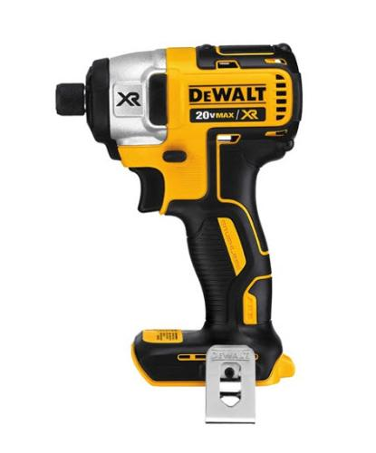 1/4 in DeWALT 20 Volt MAX* XR Li-Ion Brushless Impact Driver - DCF886B