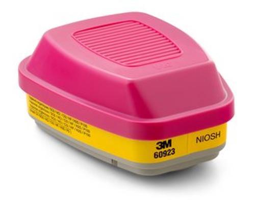3M 60923 P100 Organic Vapor/Acid Gas Cartridge Filter