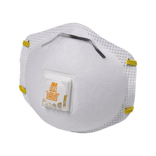 Grabber NIOSH 95 Valved Particulate Respirator