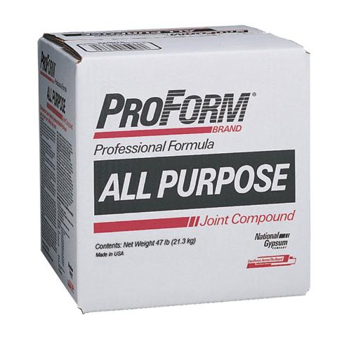 Gold bond all purpose 50 lb box at capitol building supply for National gypsum joint compound