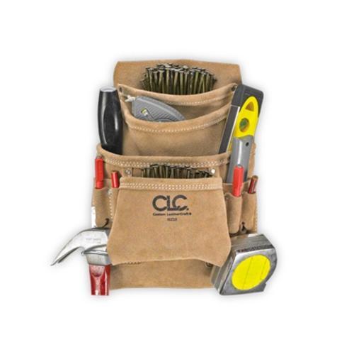 CLC 10 Pocket Carpenter's Nail and Tool Bag