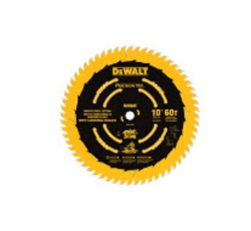 10 in DeWALT 60T Smooth Crosscutting Saw Blade - DW3215PT