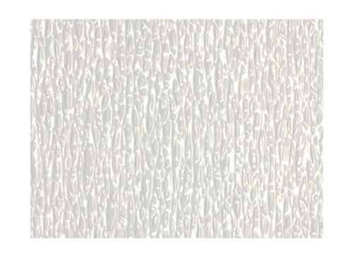.012 in x 2 ft x 2 ft Crane Composities FRP Glasbord Embossed Wall Panel - White