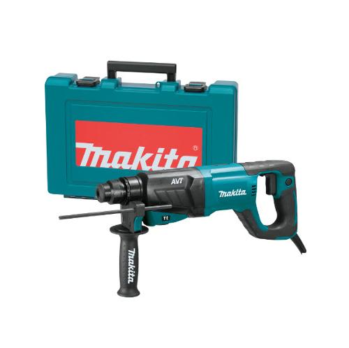 1 in Makita AVT Rotary Hammer, accepts SDS-PLUS Bits w/ D-Handle - HR2641