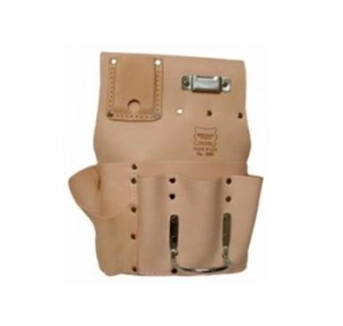 Heritage Leather 7 Pocket Drywall Hanger's Tool Pouch - Right Handed