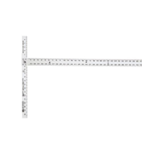 54 in Johnson Aluminum Drywall T-Square w/ Extra-Thick Blade