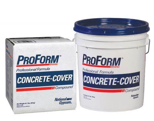 Gypsum Concrete Mix : National gypsum proform concrete cover compound gallon