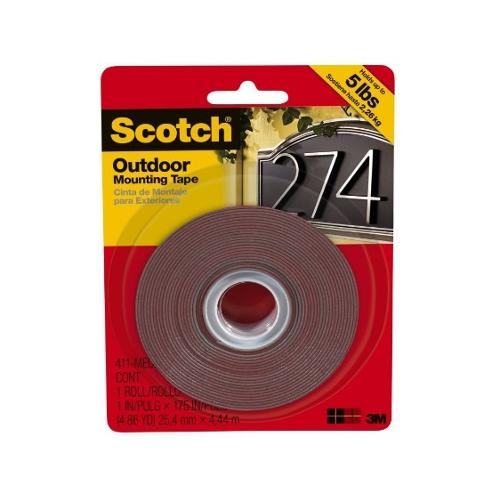 1 in x 175 in Scotch Outdoor Mounting Tape