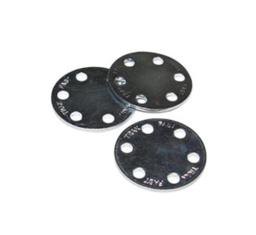 1 in x 22 Gauge ITW Ramset Plated Lathing Disc
