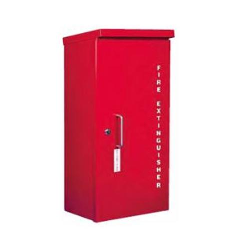 Strike First Heavy Duty Outdoor Fire Extinguisher Cabinet - 10 lb