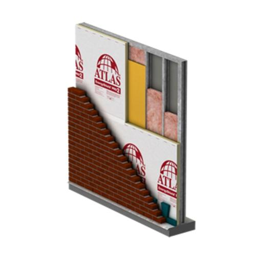 1.6 in x 4 ft x 8 ft Atlas EnergyShield PRO2 Exterior Wall Insulation
