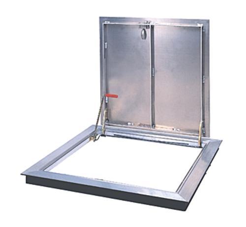 36 in x 36 in Bilco Type K Aluminum Angle Frame K4 Door Hatch