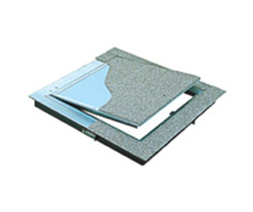 42 in x 42 in Bilco Type T Carpet or Composition Flooring T5 Access Hatch