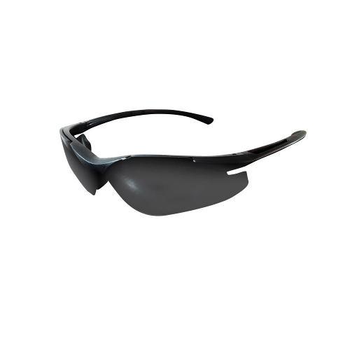 Brand X Safety X6 Series - Matte Black Frame Neutral Gray Anti-Fog Lens