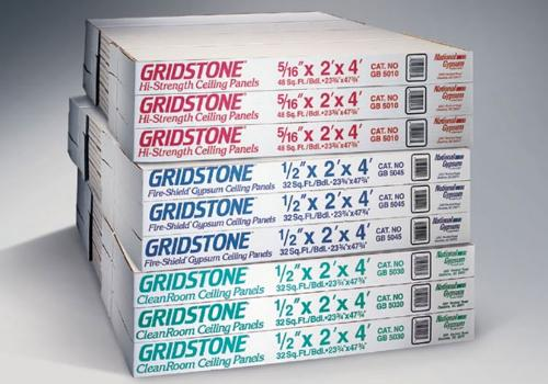 1/2 in x 2 ft x 4 ft National Gypsum Gridstone Gypsum Lay-in Panels