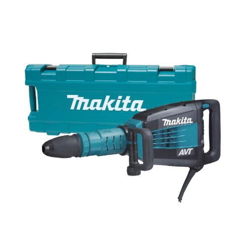27 lb Makita AVT Demolition Hammer, Accepts SDS-MAX Bits - HM1214C
